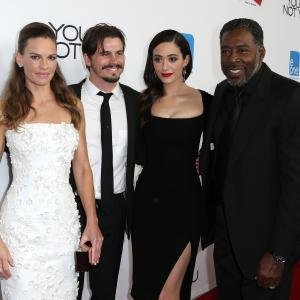 Ernie Hudson, Emmy Rossum, Hilary Swank and Jason Ritter at event of You're Not You (2014)