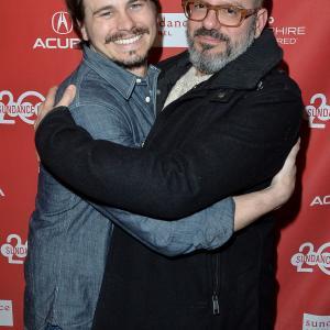 David Cross and Jason Ritter at event of Hits (2014)