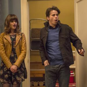 Still of Alexis Bledel and Jason Ritter in Us & Them (2013)