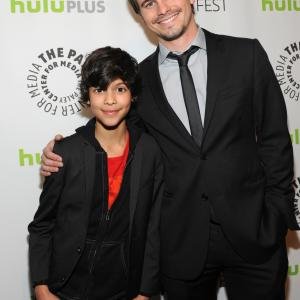 Jason Ritter and Xolo Maridueña at event of Parenthood (2010)