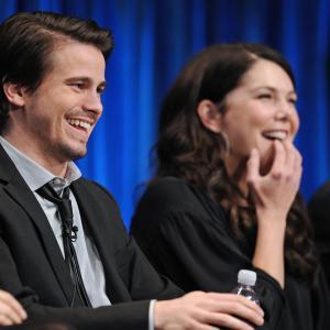 Lauren Graham and Jason Ritter at event of Parenthood (2010)