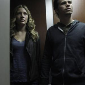 Still of Jason Ritter and Sarah Roemer in The Event 2010