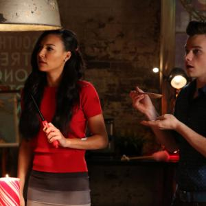 Naya Rivera, Chris Colfer