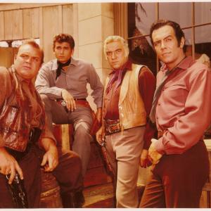 Lorne Greene, Michael Landon, Dan Blocker, Pernell Roberts