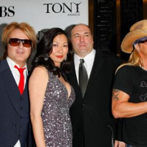 James Gandolfini, Bret Michaels, Rikki Rockett, Deborah Lin