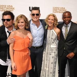 Dul Hill Maggie Lawson Kirsten Nelson and James Roday