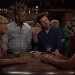 Dulé Hill, James Roday, Chelsey Reist