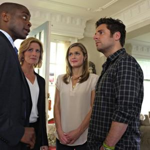 Dulé Hill, Maggie Lawson, Kirsten Nelson, James Roday