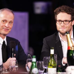 John Waters and Seth Rogen