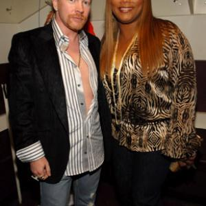 Queen Latifah, Axl Rose