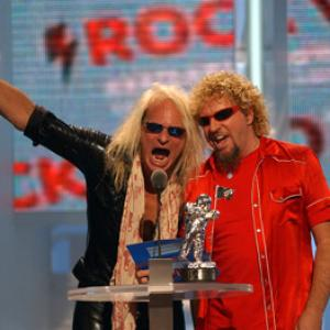 Sammy Hagar, David Lee Roth