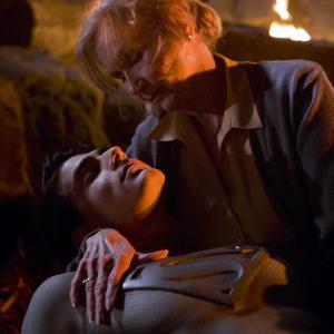 Still of Eva Marie Saint and Brandon Routh in Superman Returns 2006