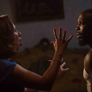 Still of Maya Rudolph and Michael Kenneth Williams in The Spoils Before Dying (2015)