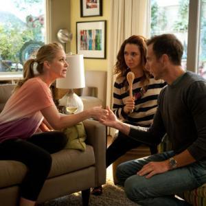 Still of Christina Applegate, Will Arnett and Maya Rudolph in Up All Night (2011)