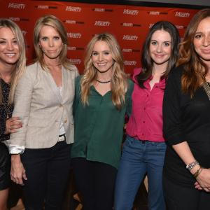 Kristen Bell, Kaley Cuoco, Cheryl Hines, Maya Rudolph and Alison Brie