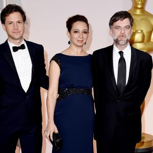 Paul Thomas Anderson, Bennett Miller and Maya Rudolph at event of The Oscars (2015)