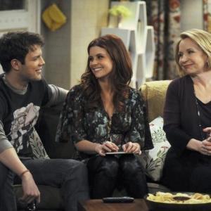 Still of JoAnna Garcia Swisher, Debra Jo Rupp and Jake Lacy in Better with You (2010)