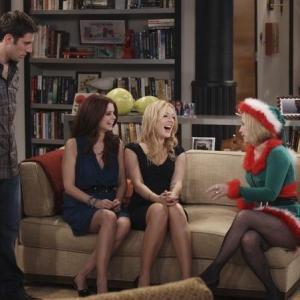 Still of Jennifer Finnigan, JoAnna Garcia Swisher, Debra Jo Rupp and Josh Cooke in Better with You (2010)