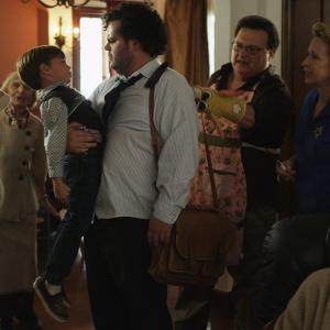 Wayne Knight, Ellen Albertini Dow, Curt Lowens, Debra Jo Rupp, Josh Gad and Ida Darvish in She Wants Me (2012)