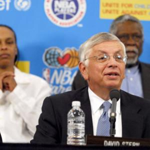 Bill Russell, David Stern, Teresa Weatherspoon