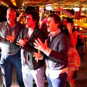 Still of Adam Sandler Rex Ryan and Andy Samberg in Pakvaises tetis 2012