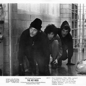 Still of Robert Redford George Segal and Paul Sand in The Hot Rock 1972