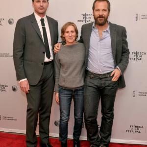 Kai Lennox, Kelly Reichardt and Peter Sarsgaard
