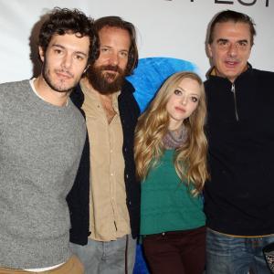 Adam Brody, Chris Noth, Peter Sarsgaard and Amanda Seyfried