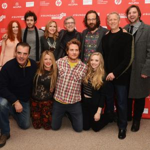 Adam Brody, Brian Gattas, Heidi Jo Markel, Chris Noth, Peter Sarsgaard, Juno Temple, Amanda Seyfried and Laura Rister at event of Gili gerkle (2013)