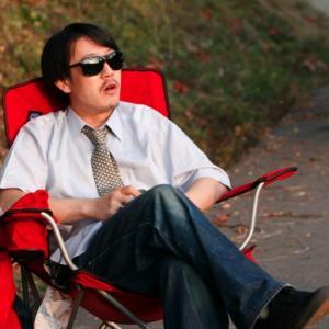 Yugo Saso at location as Director of Culture Documentary Film BOIN MONOGATARI