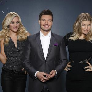 Jenny McCarthy Fergie and Ryan Seacrest in Dick Clarks Primetime New Years Rockin Eve with Ryan Seacrest 2014 2013