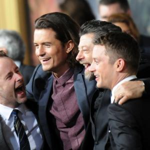 Elijah Wood, Orlando Bloom, Billy Boyd, Andy Serkis