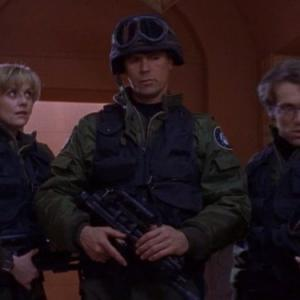 Richard Dean Anderson, Michael Shanks, Amanda Tapping