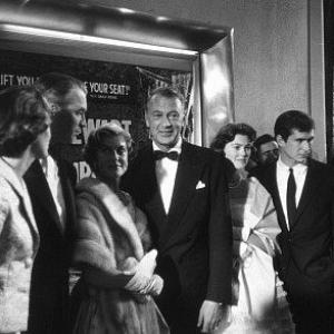 Spirit of St Louis Premiere Jimmy Stewart Gary Cooper Anthony Perkins Art Linkletter 1957