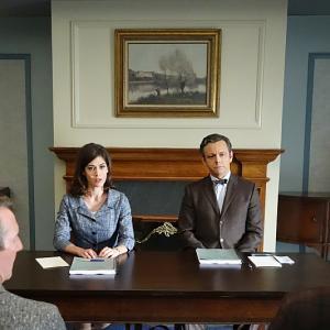 Lizzy Caplan, Michael Sheen