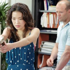 Still of Jason Statham and Qi Shu in The Transporter (2002)
