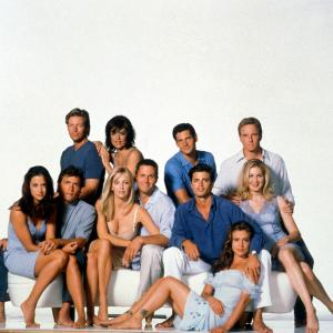 Heather Locklear, Alyssa Milano, Linden Ashby, David Charvet, Rob Estes, Lisa Rinna, Kelly Rutherford, Thomas Calabro, Andrew Shue, Jack Wagner
