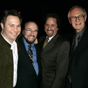 Alan Alda, James Lipton, Ron Silver and Jason Binn