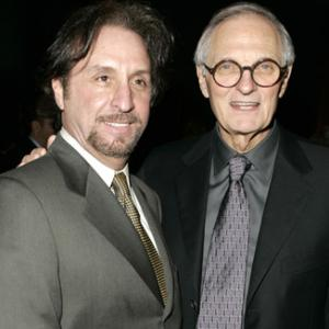 Alan Alda and Ron Silver