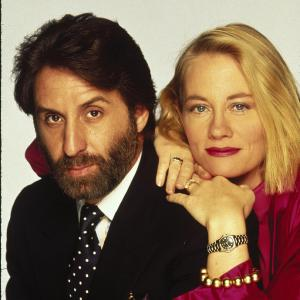 Still of Cybill Shepherd and Ron Silver in Married to It (1991)
