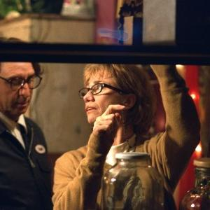 Ron silver and Kathy Baker star