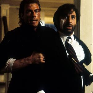 Still of Jean-Claude Van Damme and Ron Silver in Timecop (1994)