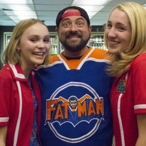Kevin Smith, Harley Quinn Smith, Lily-Rose Melody Depp
