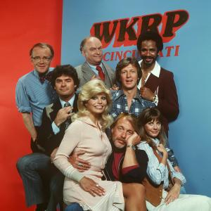 Loni Anderson, Tim Reid, Frank Bonner, Howard Hesseman, Gordon Jump, Richard Sanders, Gary Sandy, Jan Smithers