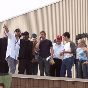 Ving Rhames, Sarah Polley, Boyd Banks, Ty Burrell, Michael Kelly, Kim Poirier, R.D. Reid, Zack Snyder, Jake Weber and Kevin Zegers in Dawn of the Dead (2004)