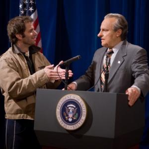 Still of Zack Snyder and Robert Wisden in Watchmen (2009)