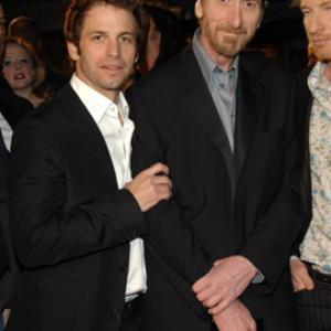 Frank Miller and Zack Snyder at event of 300 (2006)