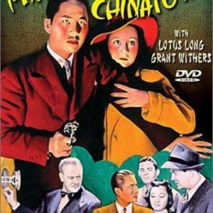 Lotus Long Keye Luke and Grant Withers in Phantom of Chinatown 1940