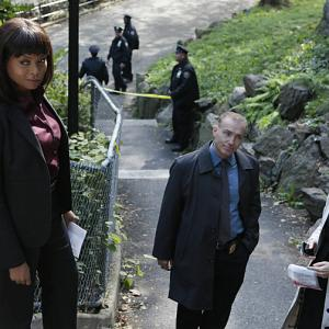 Still of Al Sapienza and Reiko Aylesworth in Person of Interest (2011)