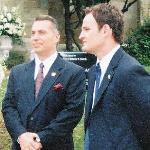 BROTHERHOOD as Mayor Frank Panzerella with Jason Clark